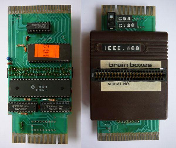 Brain Boxes IEEE/488 cartridge